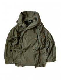 Womens coats online: Kapital Katsuragi Raising Ring khaki coat