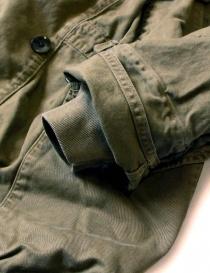 Cappotto Kapital Katsuragi Raising Ring khaki cappotti donna acquista online