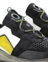 Leather Crown Waero black and yellow shoes WAERO-AERO-DONNA buy online