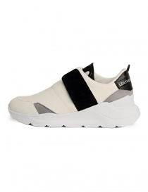 Leather Crown white and black shoes buy online