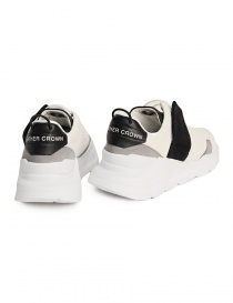 Leather Crown white and black shoes price