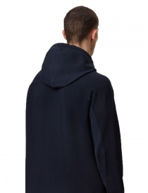 Ze-Knit by Napapijri Ze-101 hooded jacket in blu