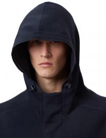 Ze-Knit by Napapijri Ze-101 hooded jacket in blu price