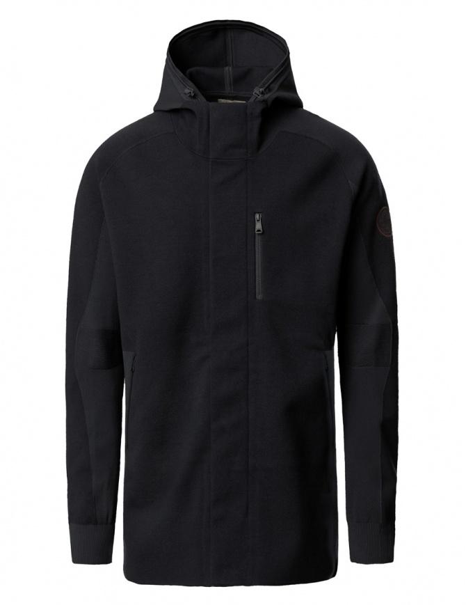 Ze-Knit by Napapijri Ze-101 black jacket N0YHUW041-ZE-K101-BLK mens jackets online shopping