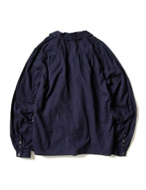 Kapital indigo shirt with ruffles buy online