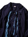 Kapital indigo shirt with ruffles EK-640-IDG price
