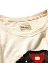Maglia Kapital colore avorio e maniche a righe K1809LC047 ECRxBLACK prezzo