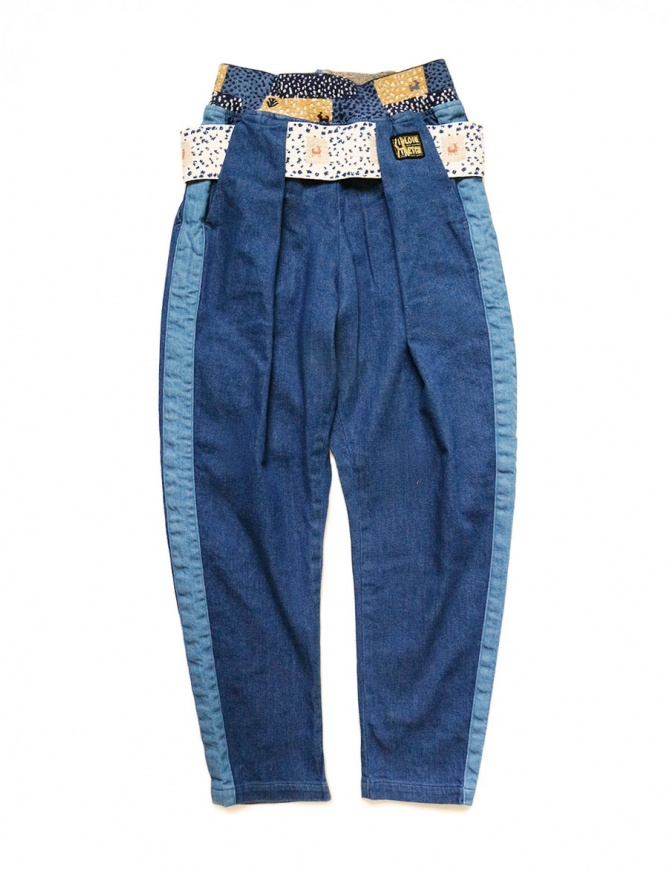 Kapital trousers in denim fabric K1809LP079 IDG womens trousers online shopping