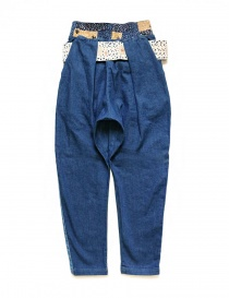 Kapital trousers in denim fabric