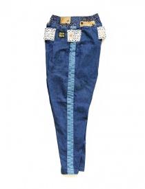 Kapital trousers in denim fabric price