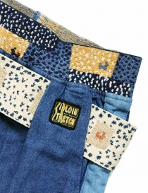 Kapital trousers in denim fabric womens trousers buy online
