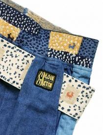 Pantalone Kapital in tessuto denim pantaloni donna acquista online