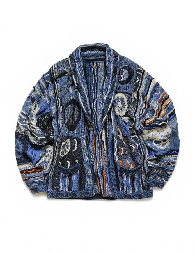 Kapital blue indigo cardigan K1810KN095-NAVY womens cardigans online shopping