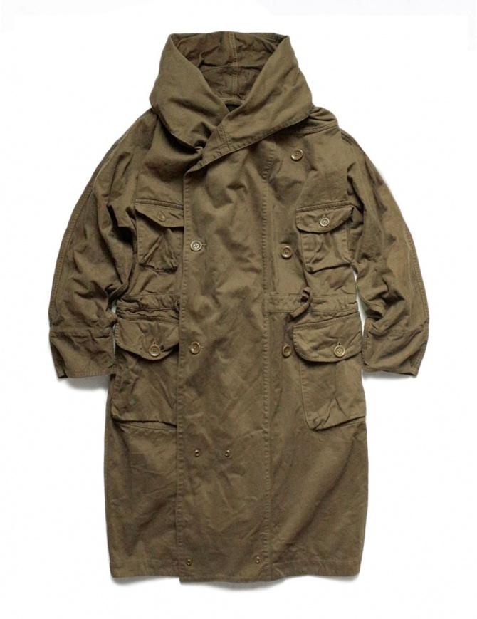 Cappotto Kapital lungo color khaki EK-448-KHAKI cappotti uomo online shopping