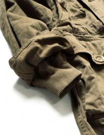Cappotto Kapital lungo color khaki cappotti uomo acquista online
