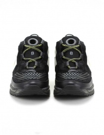 Leather Crown Waero black and yellow shoes price