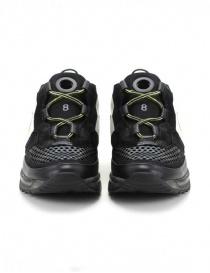 Leather Crown Waero white yellow black sneakers price