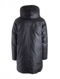 John Varvatos leather parka