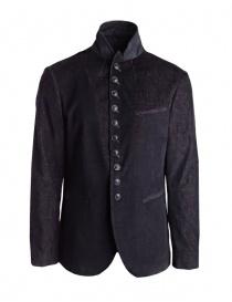 John Varvatos black-burgundy corduroy velvet suit jacket buy online