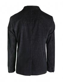 John Varvatos black/burgundy corduroy velvet jacket price