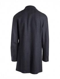 John Varvatos cappotto in lana grigio da uomo acquista online