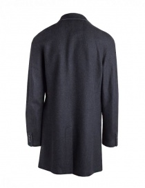 John Varvatos coat for man in grey wool