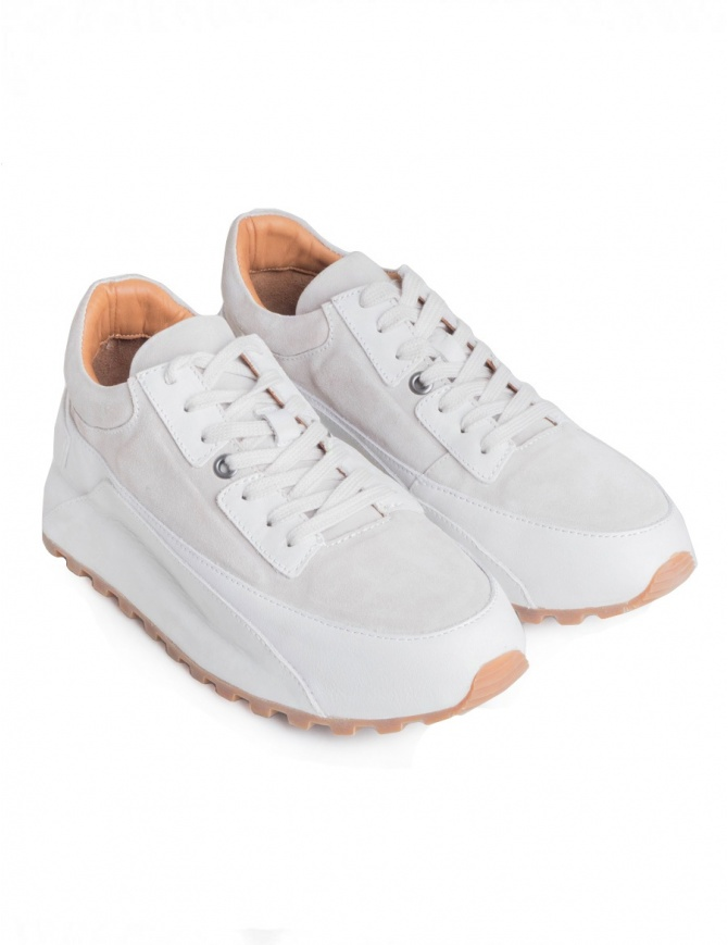 John Varvatos LES Trainer ivory sneakers F3730U2-Y289C-COL.100 mens shoes online shopping