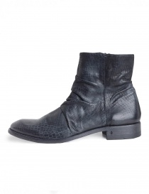 John Varvatos black leather boots