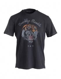John Varvatos tiger print t-shirt KG4019U3B-KW3B1-COL.001 order online