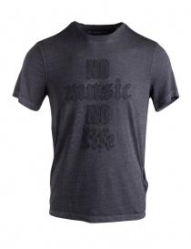 John Varvatos No Music No Life t-shirt KG4037U3B-BOZ25B-COL.014