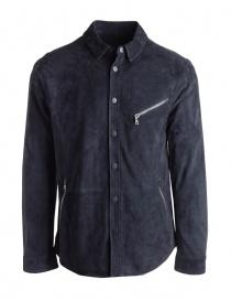 John Varvatos black suede jacket L665P4-Y455-COL.414