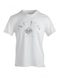 John Varvatos Aces white t-shirt KG3887U2B-KW3B1-COL.103 order online