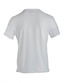 T-shirt John Varvatos Aces bianca