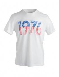 John Varvatos 1976 white t-shirt KG3895U2B-KW3B1-COL.103