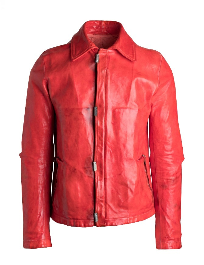 Carol Christian Poell red jacket LM/2498 LM/2498 CORS-PTC/13 mens jackets online shopping