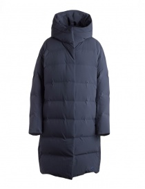 Allterrain By Descente navy long down jacket DAWMGK43U NVGR order online