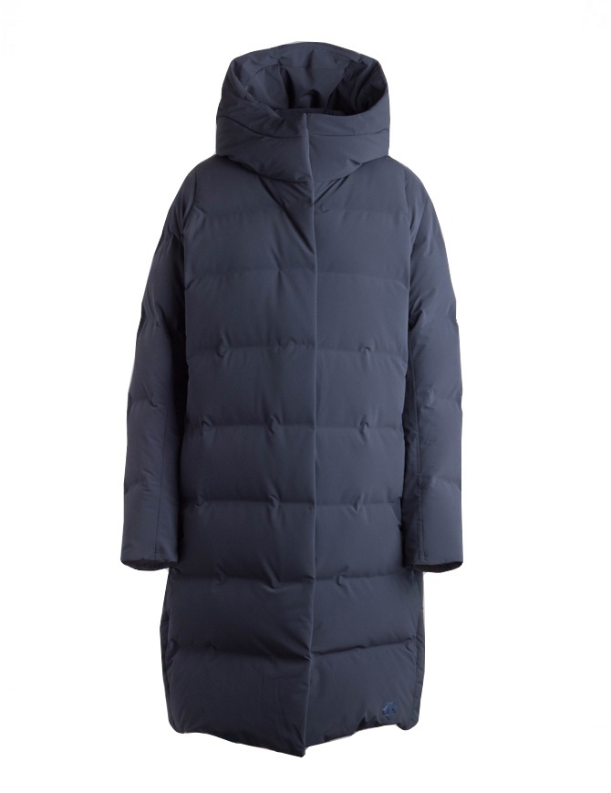 Allterrain By Descente navy long down jacket DAWMGK43U NVGR womens jackets online shopping