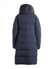 Allterrain By Descente navy long down jacket