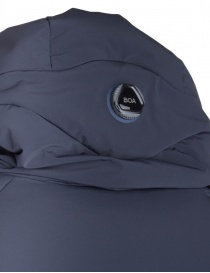 Allterrain By Descente navy long down jacket price