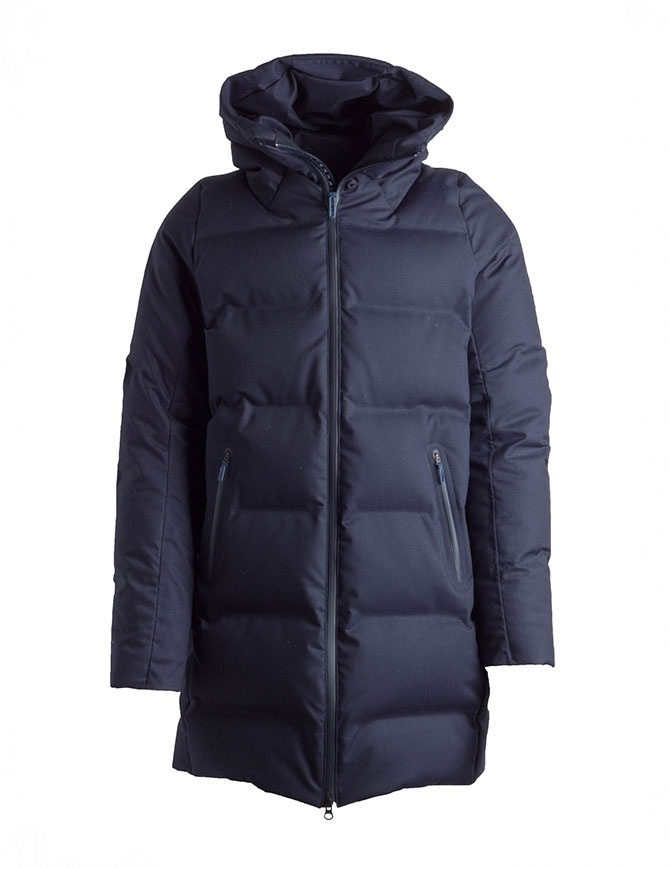 Cappotto piumino Allterrain By Descente Mizusawa Element-LC colore navy DAMMGK34U NVGR giubbini uomo online shopping