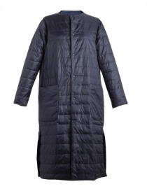 Womens jackets online: Plantation navy long down jacket