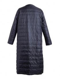 Plantation navy long down jacket