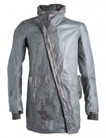 Mens jackets online: Carol Christian Poell grey/green parka OM/2491