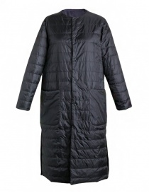 Womens jackets online: Plantation black long down jacket