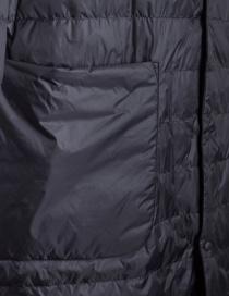 Piumino lungo Plantation colore nero giubbini donna acquista online