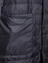Piumino lungo Plantation colore nero PL88-FA606 BLACK acquista online