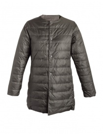 Plantation green army down jacket for woman online