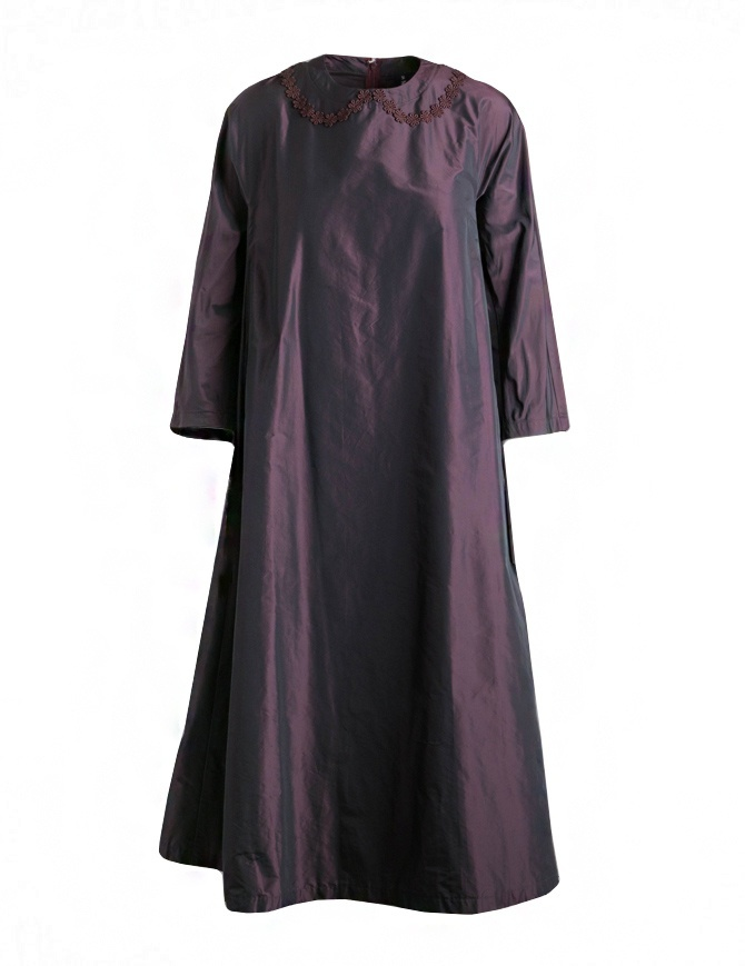 Miyao merlot color dress MP-O-01 BURGUNDY RED womens dresses online shopping
