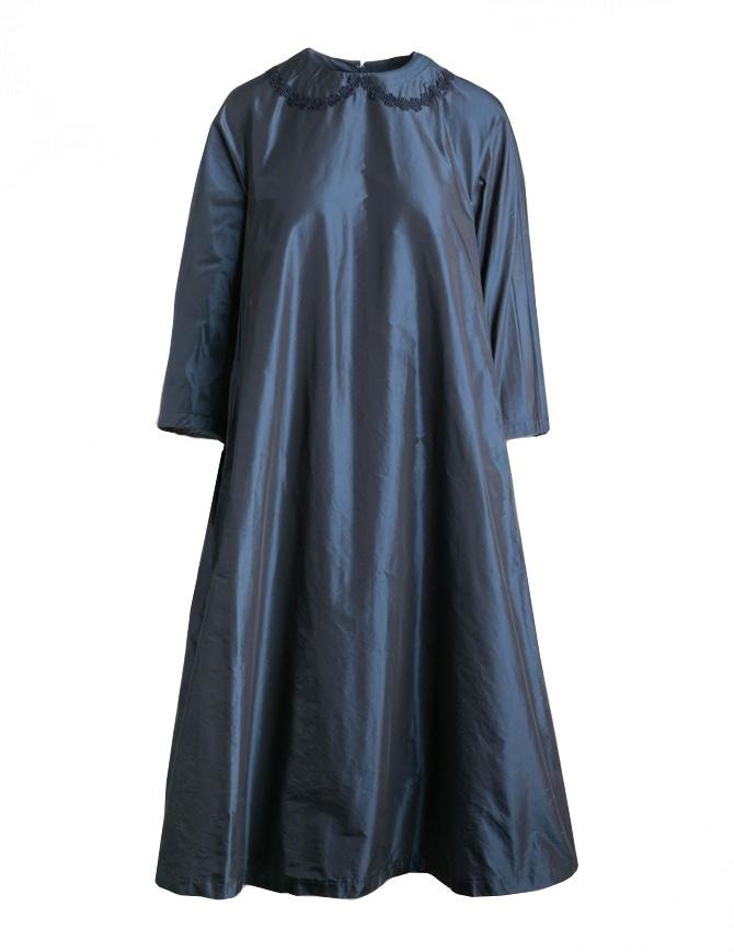Abito Miyao a campana blue navy cangiante MP-O-01 NAVY abiti donna online shopping