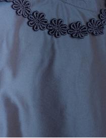 Miyao iridescent navy blue bell shaped dress price